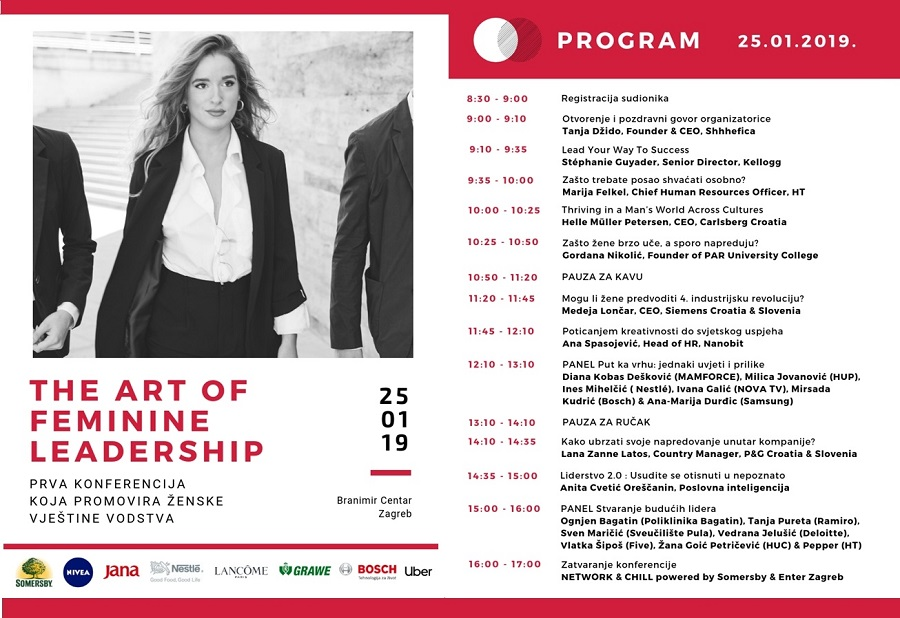 Konferencija The Art of Feminine Leadership