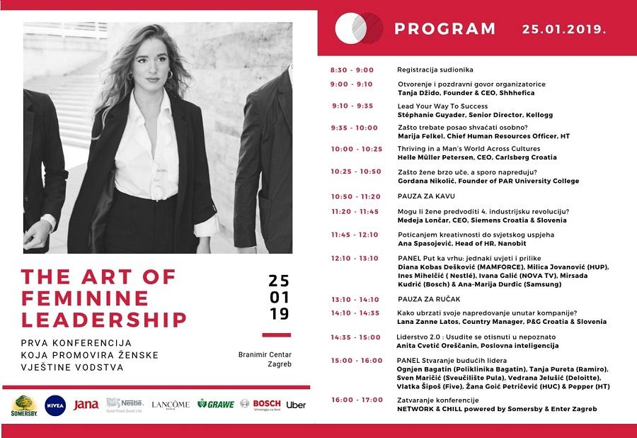 Konferencija The Art of Feminine Leadership