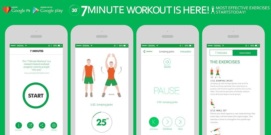 Popularne aplikacije za vježbanje