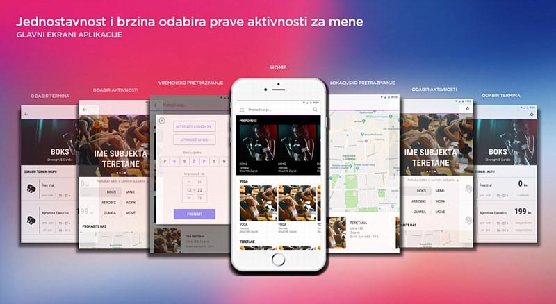 FLOU. sportska aplikacija