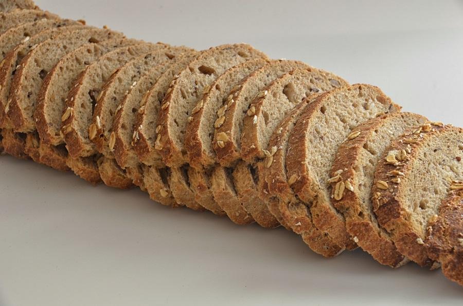 kruh od cjelovitih žitarica, zdravi ugljikohidrati
