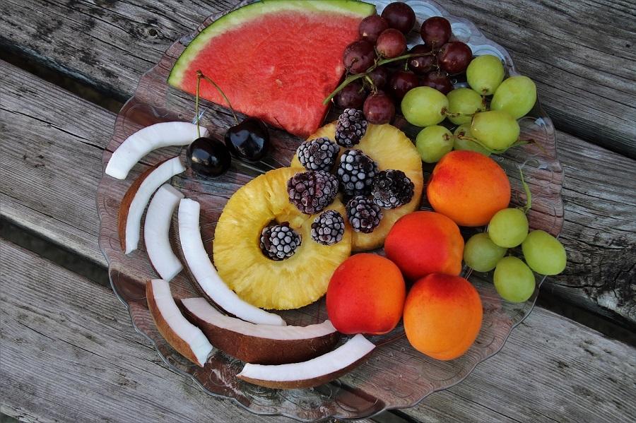 ljetna prehrana, voće