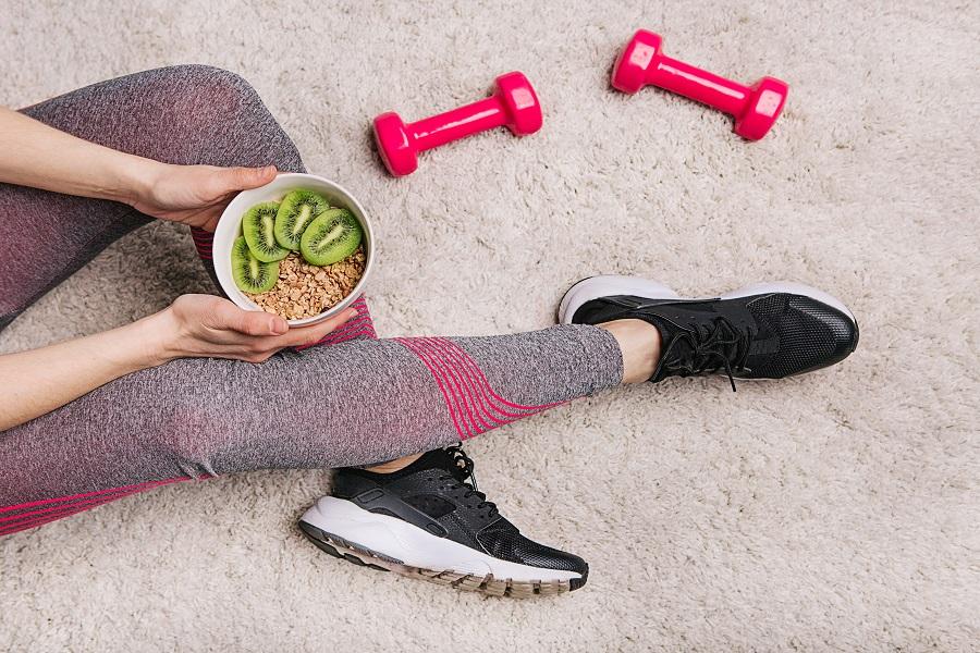 smanjite stres na poslu, tjelovježba, zdrava prehrana