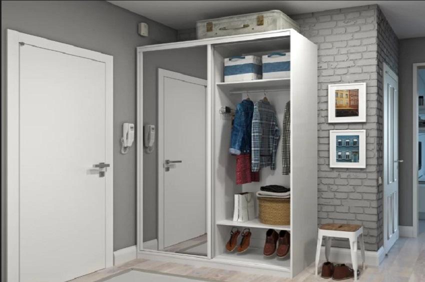 uređenje malog stana, ogledalo