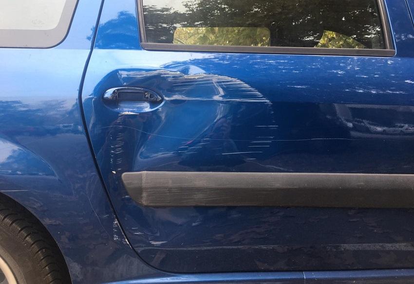 Dacia Logan, popravak automobila, šteta na autu