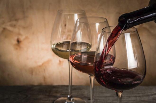 Kutak za degustacije vina i rakija