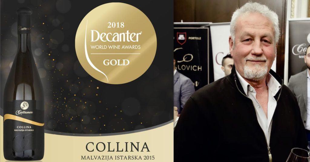 Franco Cattunar osvojio je zlato na Decanterovim svjetskim nagradama