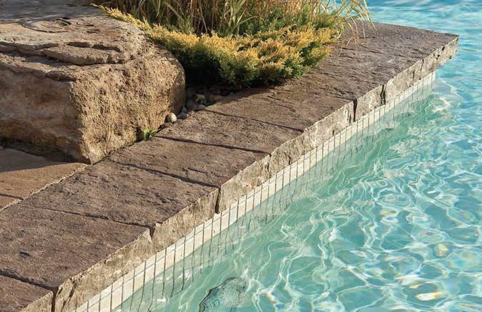 Rubni kamen za bazene mora biti lijep, ali i siguran