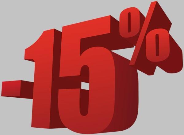15% popusta poplavljenom području
