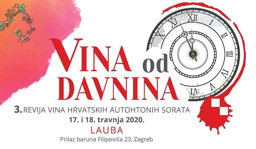 Najava treće revije vina hrvatskih autohtonih sorata