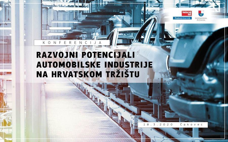 Bliži se konferencija Razvojni potencijali automobilske industrije na hrvatskom tržištu