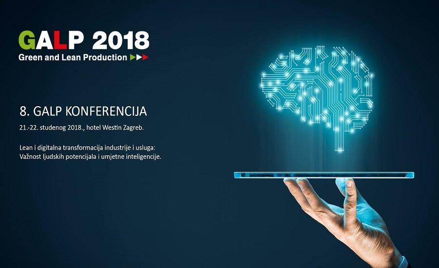 8. GALP konferencija -  Lean i digitalna transformacija industrije i usluga: važnost ljudskih potencijala i umjetne inteligencije