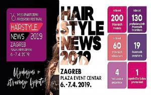16. Međunarodni frizerski festival: Hairstyle News 2019