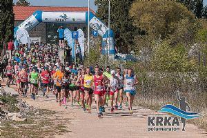 2. Krka polumaraton u nacionalnom parku Krka
