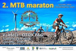 "2. MTB maraton ""Pedalom po Pagu"""