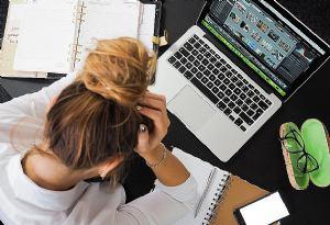 Dugotrajan rad na računalu može uzrokovati sindrom suhog oka