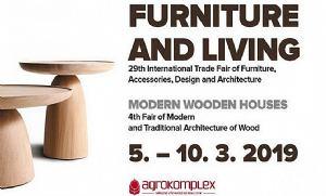 Furniture and Living i Sajam modernih drvenih kuća i drvene arhitekture u Nitri