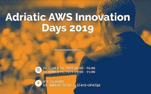 Ovog listopada održavaju se Adriatic AWS Innovation Days 2019