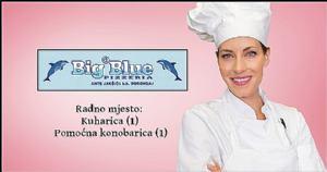 Pizzeria Big Blue (Borongaj) zapošljava nove radnike