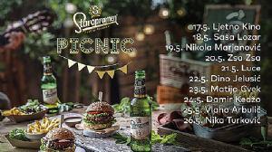 Staropramen piknik: 10 dana odlične atmosfere, uživanja u hrani i pivu!