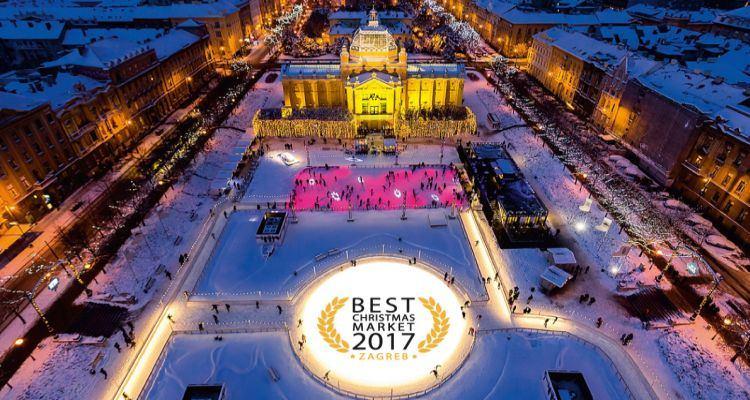 Advent u Zagrebu po 3. put zaredom proglašen najboljim u Europi