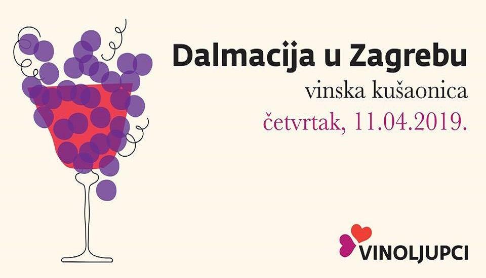 Čarolija Dalmatinskih vina u Zagrebu!