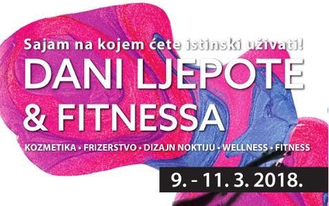Dani ljepote i fitnessa na Zagrebačkom Velesajmu