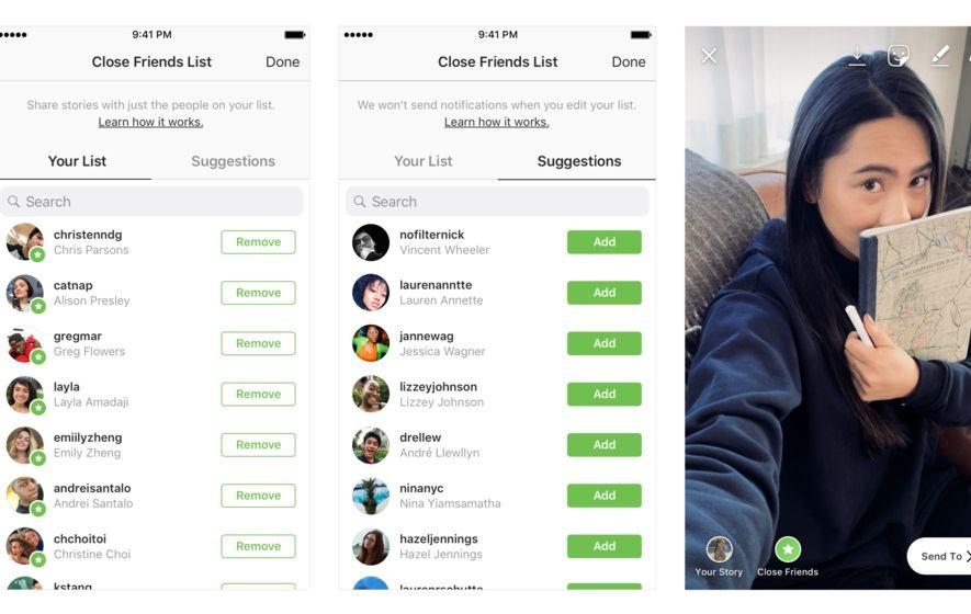 Instagram je uveo novu listu uz koju ćete odlučivati tko može vidjeti vaše Storyje