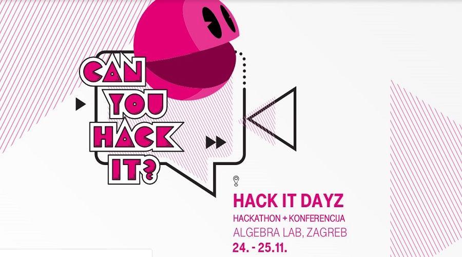 Jeste li se već prijavili na HACK IT DAYZ-e?