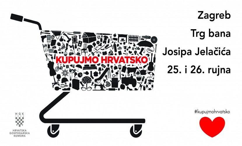 Poziv na akciju Kupujmo hrvatsko u Zagrebu