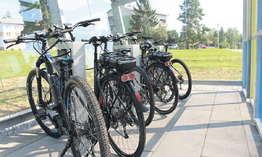 Prva javna garaža s električnim biciklima u Hrvatskoj