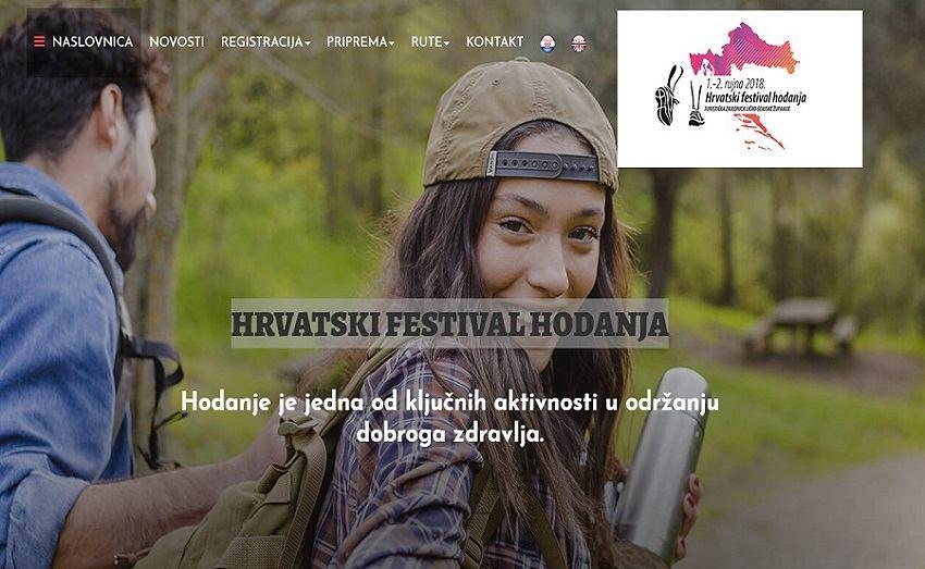 Prvi Festival hodanja u Hrvatskoj