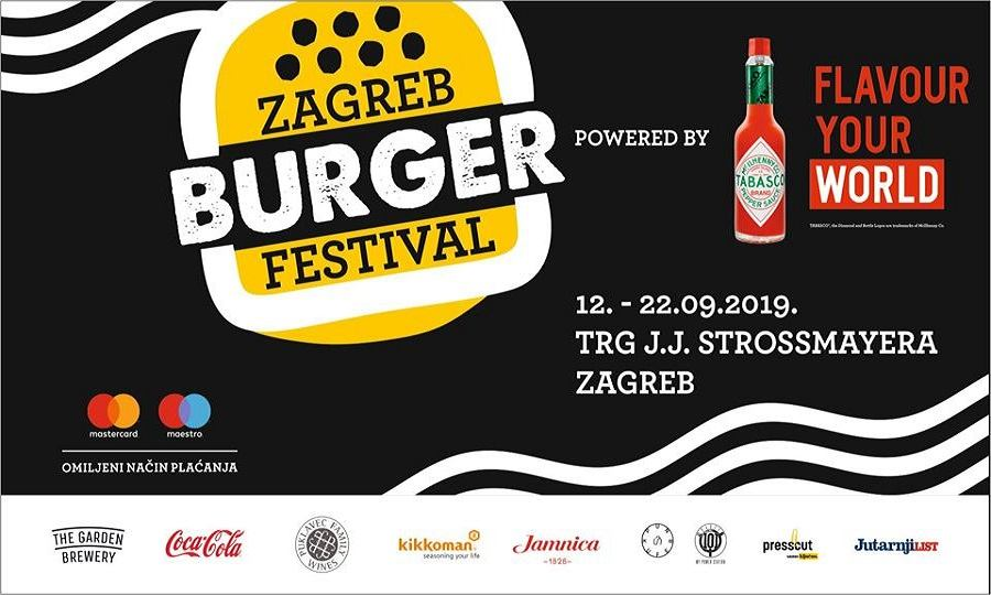 Samo dva dana dijele nas od Zagreb Burger Festivala!