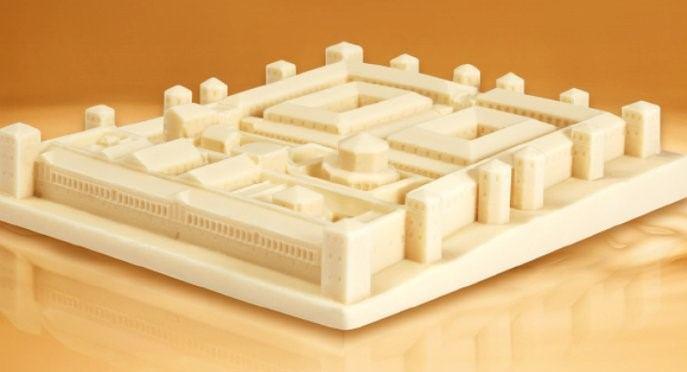 Suvenir iz Splita: bijela čokolada u obliku Dioklecijanove palače
