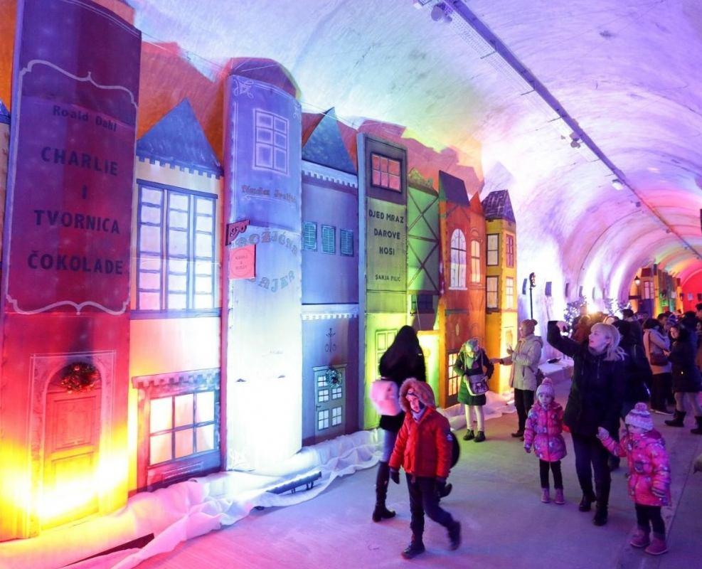 Tunel Grič u adventskom izdanju