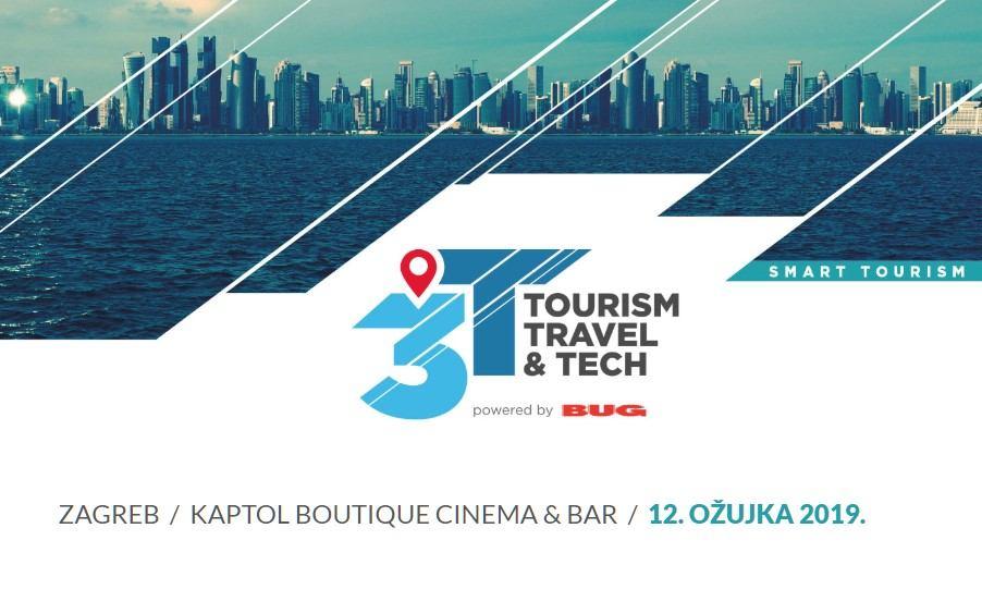 U ožujku stiže treća 3T konferencija - Tourism, Travel & Tech