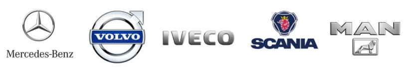 Servis Iveco, Scan, Mania, Mercedes, Volvo kamiona
